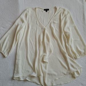 Silky Ivory Tunic Small